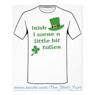アイルランド語私は少しより高いセントパトリックの日でした チラシ