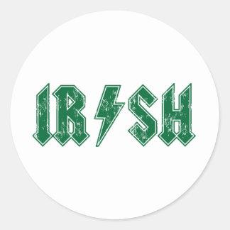 アイルランド語 ラウンドシール