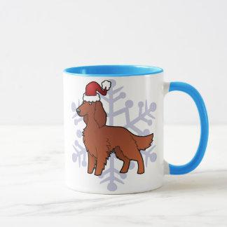 アイルランド語/英語/ゴードン/R&Wのセッタークリスマス マグカップ