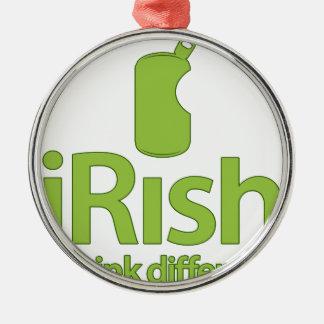 アイルランド語… 違うな飲み物! メタルオーナメント