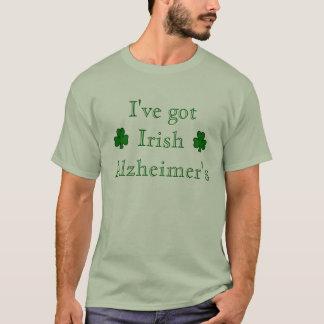 アイルランド語Alzheimer Tシャツ