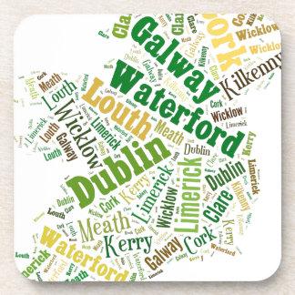アイルランド都市単語の芸術 コースター