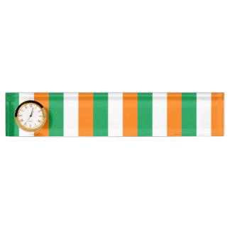 アイルランド、アイルランドの三色の旗 デスクネームプレート