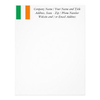 アイルランド、アイルランドの三色の旗 レターヘッド