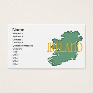 アイルランド 名刺
