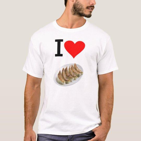 アイ ハート 餃子(実写版) ( I  Love ギョーザ(実写版)  ) Tシャツ