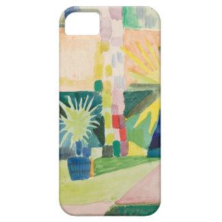 アウグスト・マッケ-湖Thunの庭 iPhone SE/5/5s ケース