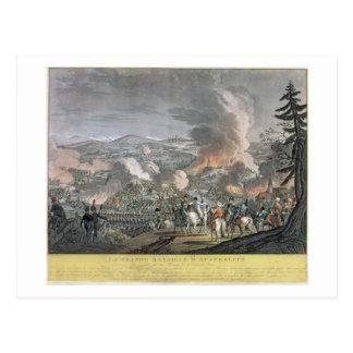 アウステルリッツの戦い、1805年12月2日(colou ポストカード