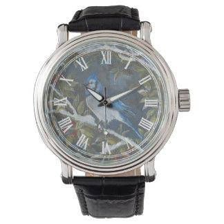 アオカケスの芸術 腕時計