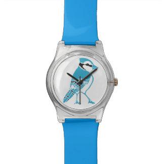 アオカケスの青の腕時計 腕時計