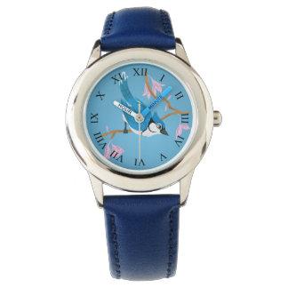 アオカケス 腕時計