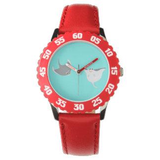 アカエイの漫画 腕時計