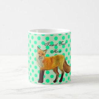 アカギツネの森林 コーヒーマグカップ