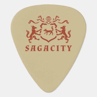 アカギツネの紋章 ギターピック
