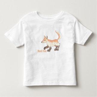 アカギツネのTシャツ トドラーTシャツ