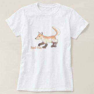 アカギツネのTシャツ Tシャツ