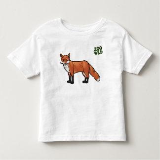 アカギツネ トドラーTシャツ