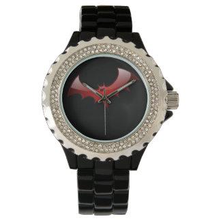 アカコウモリ 腕時計