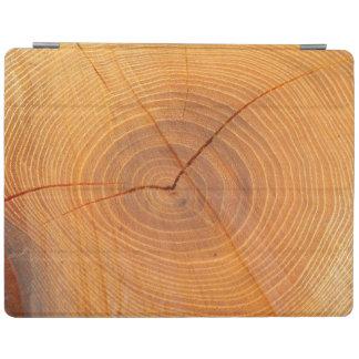 アカシアの木の断面iPadカバー iPadスマートカバー