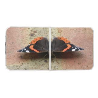 アカタテハチョウ蝶のPongのテーブル ビアポンテーブル