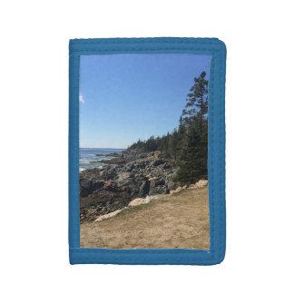 アカディア国立公園、メインの財布 ナイロン三つ折りウォレット
