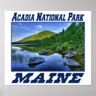 アカディア国立公園-メインポスター ポスター