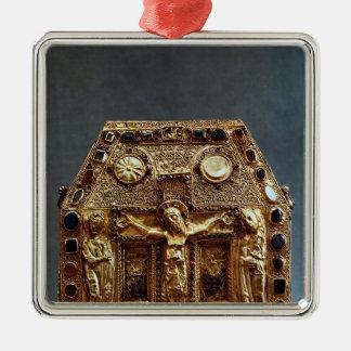 アキテーヌ盆地のPepin I王のReliquary メタルオーナメント