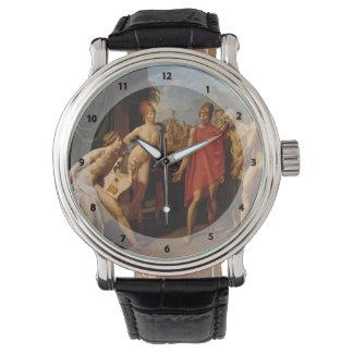 アキレスをせき立てるSentジーンIngres-の大使 腕時計