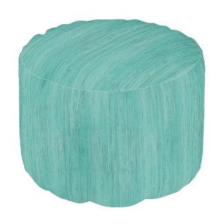 アクアマリンのタケ木製の穀物の一見 プーフ
