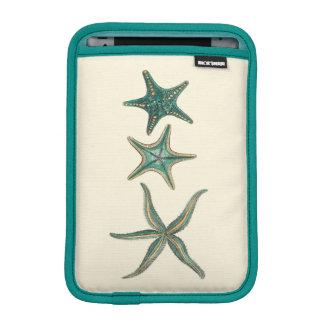 アクアマリンの三重のヒトデ iPad MINIスリーブ