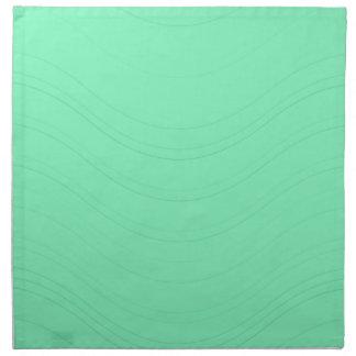 アクアマリンの正弦波 ナプキンクロス