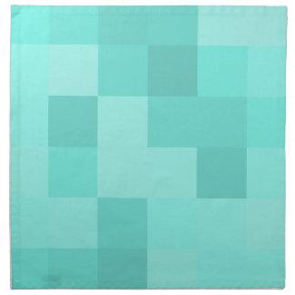 アクアマリンの正方形 ナプキンクロス