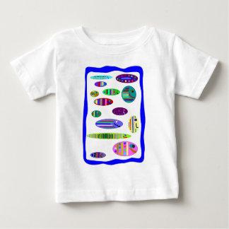アクアリウムの魚のスタイルのTシャツ ベビーTシャツ