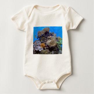 アクアリウムの魚の写真 ベビーボディスーツ