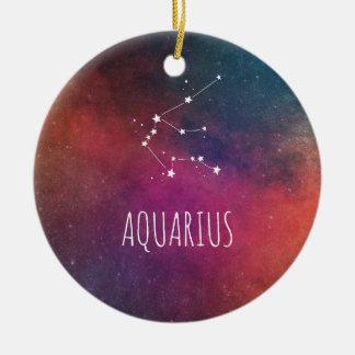 アクエリアスの占星術 セラミックオーナメント