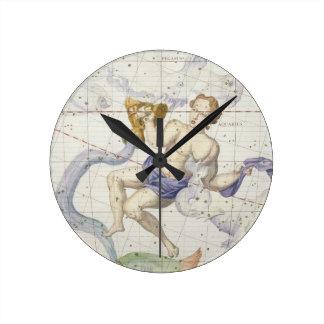 アクエリアスの星座は、「地図書Coeからの9つをめっきします ラウンド壁時計