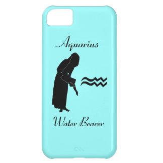 アクエリアスの星座または(占星術の)十二宮図のiPhone 5の場合 iPhone5Cケース