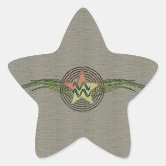 アクエリアスの星 星シール