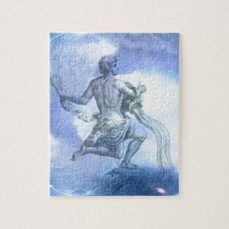 アクエリアスの(占星術の)十二宮図の年齢 ジグソーパズル