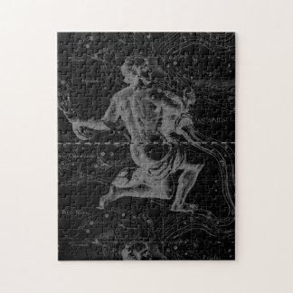 アクエリアスの(占星術の)十二宮図の星座Hevelius 1690年 ジグソーパズル