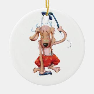 アクエリアス犬 セラミックオーナメント