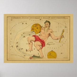 アクエリアス-イメージヴィンテージの十二宮 ポスター