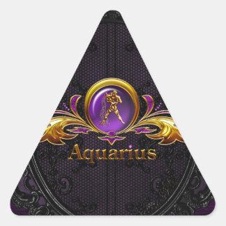アクエリアス 三角形シール