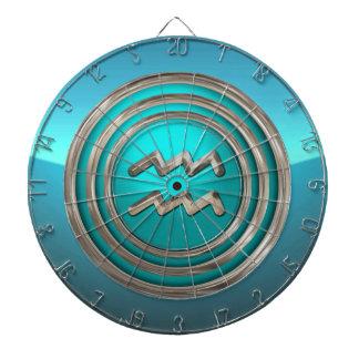 アクエリアス-水持参人の占星術のな印 ダーツボード