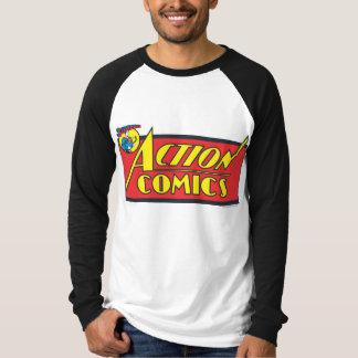 アクション・コミック-スーパーマン Tシャツ