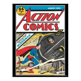 アクション・コミック-威厳があるな1939年 ポストカード