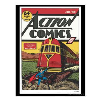 アクション・コミック- 1939年6月 ポストカード