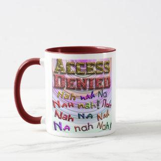 アクセスは、Nah na nah na (2)否定しました マグカップ