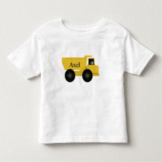 アクセルのトラックのTシャツ トドラーTシャツ