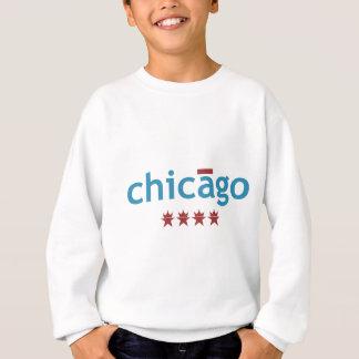 アクセントシカゴ スウェットシャツ